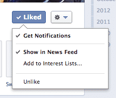 Never Miss an Update From Your Favorite Facebook Pages