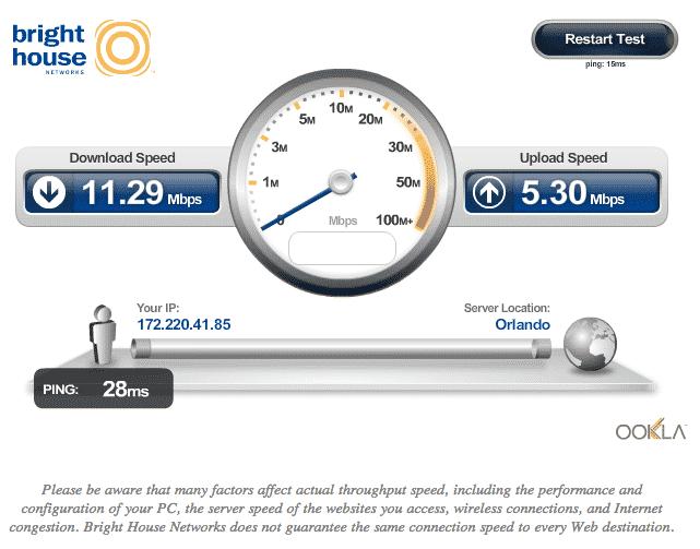 AT&T Internet Speed Test