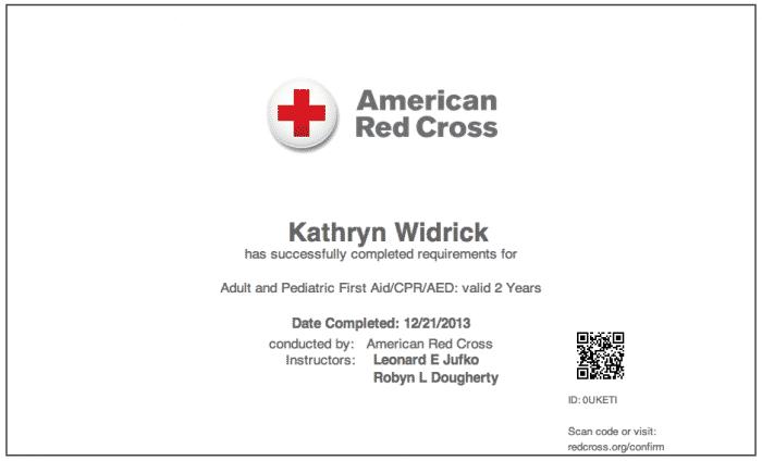 Online Certification Red Cross Cpr Online Certification