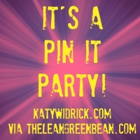 It's a Pin It Party! Pick Five Pinnable Posts and Share Them With the Community