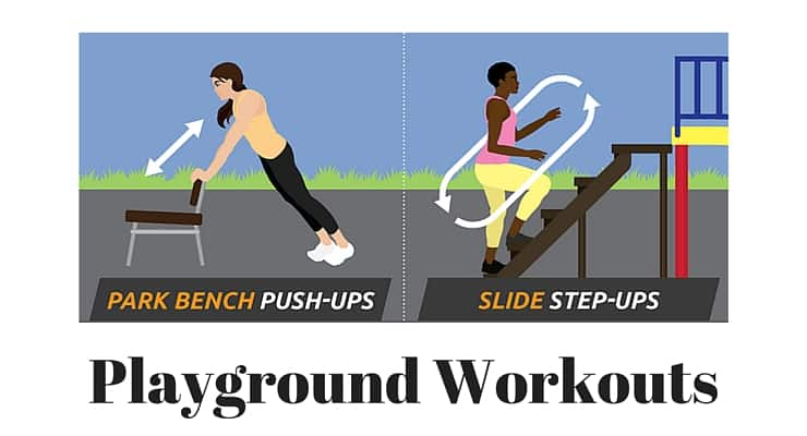 Get Your Workout on at the Playground!