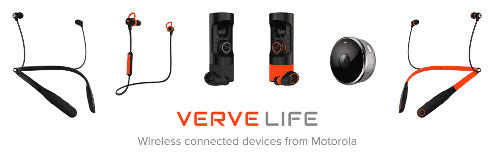 VerveRider+ wearable Bluetooth® earbuds by Motorola