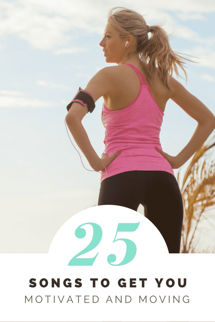 25 Songs to Get You Motivated and Moving (Pinterest)