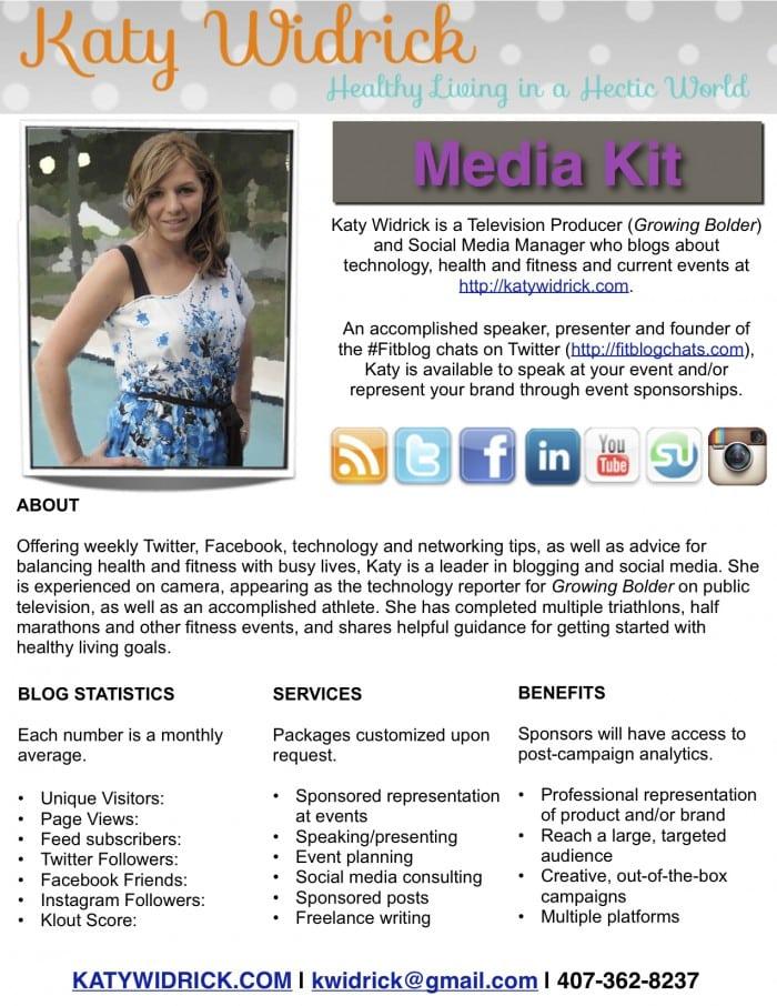 Katy Widrick Media Kit