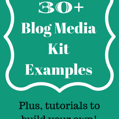 Best Blogger Media Kits