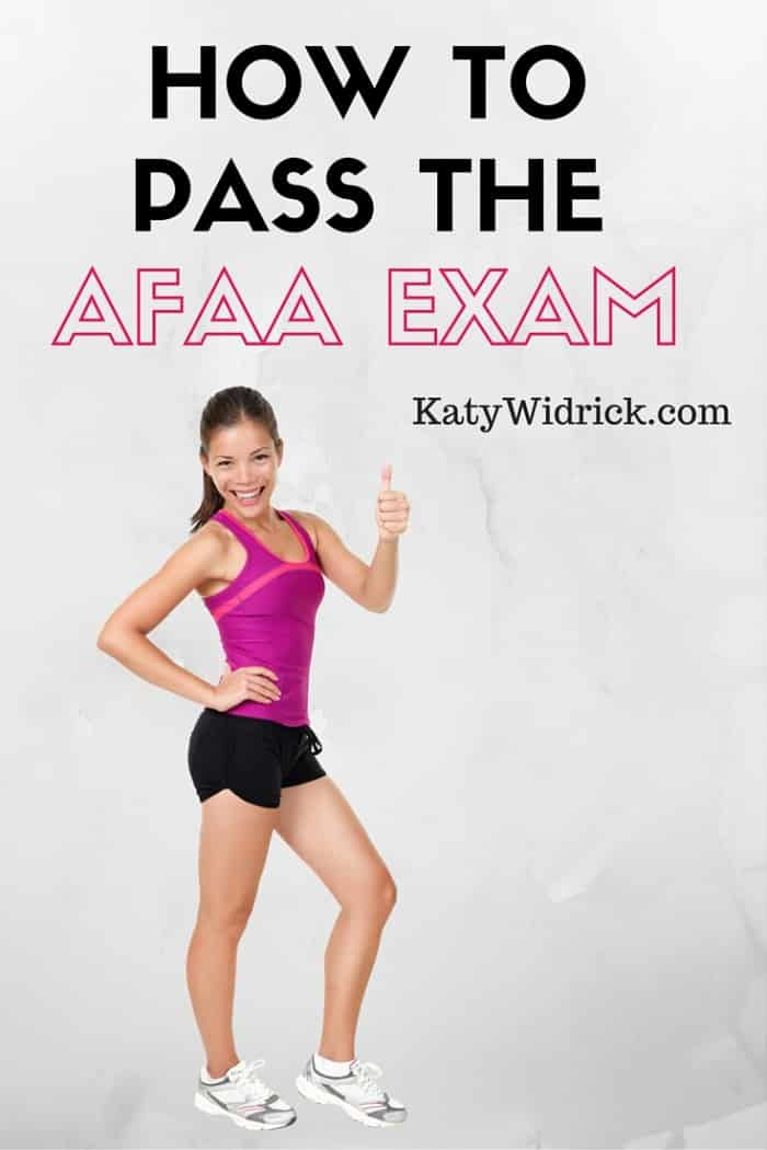 Pass the AFAA Group Fitness Exercise Instructor Exam