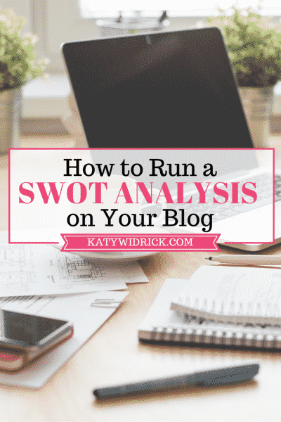 How to Run a SWOT Analysis on Your Blog