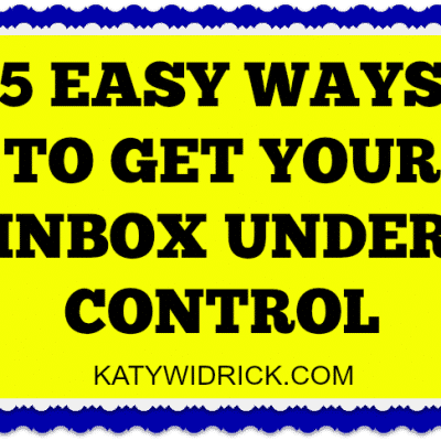 Getting Control of Your Email Inbox