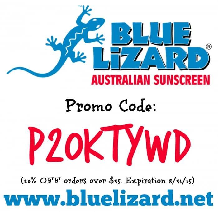 Blue Lizard Coupon Code