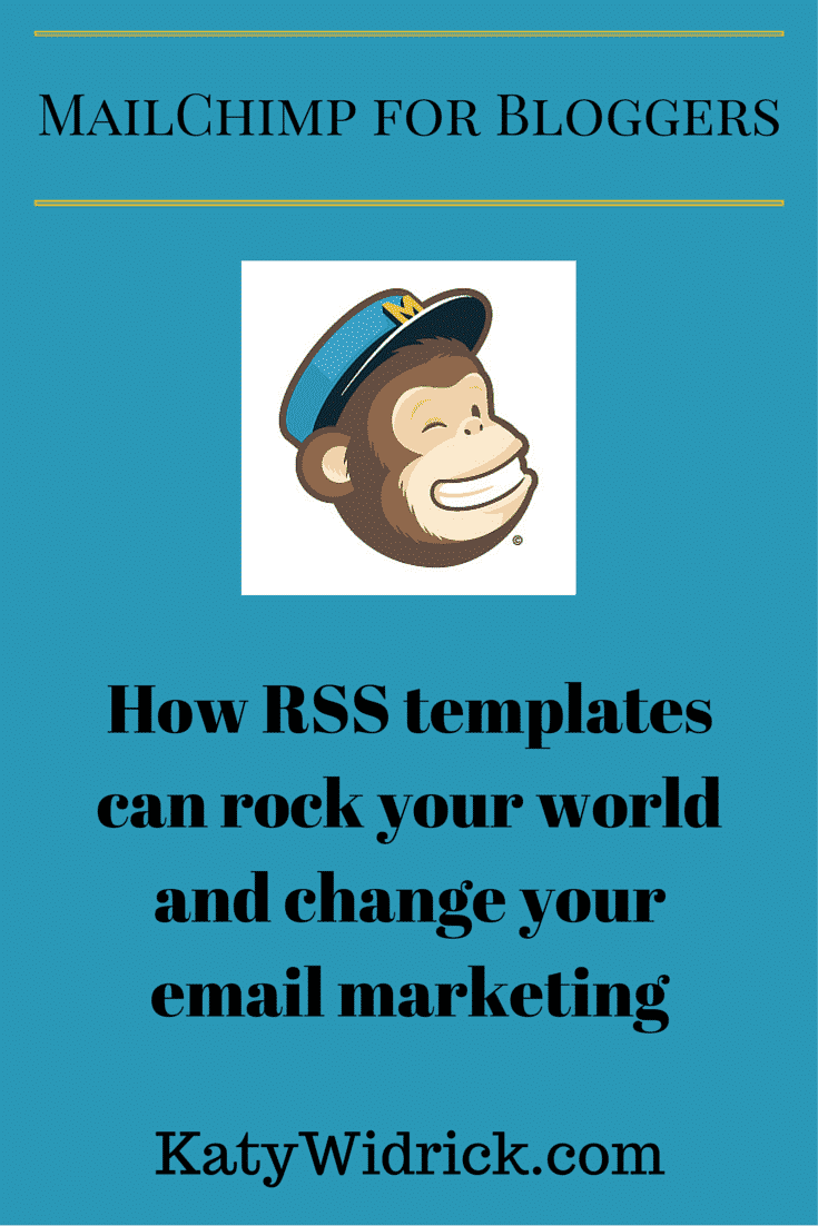 How RSS templates can rock your world and change your email marketing