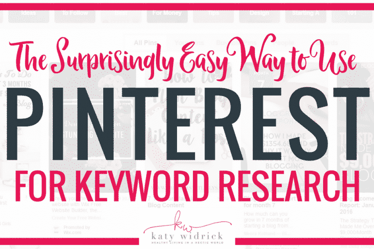 The Surprisingly Easy Way to Use Pinterest for Keyword Research